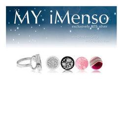 MY iMenso platte ring met insignia