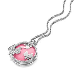 MY iMenso Set Medaillion Cover Collier Roze Insignia