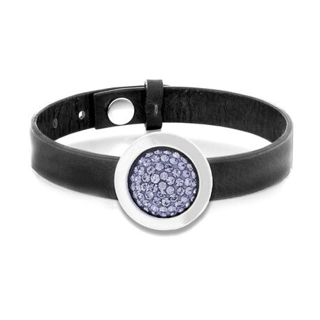 MY iMenso armband met paars insignia