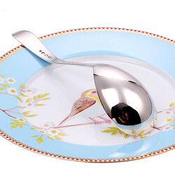 Zilveren compoteschep Prinses 16 cm
