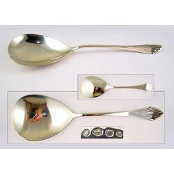 Zilveren Brijlepel Waaier