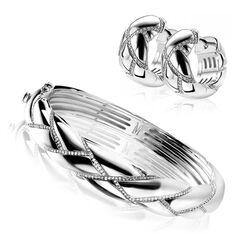 Zinzi Mart Visser armband met oorbellen