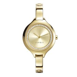 Esprit verguld stalen horloge Stacy Gold ES108322002