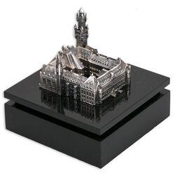 Miniatuur zilveren vredespaleis van Begeer