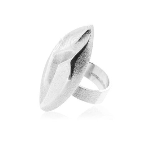 Lapponia Ring Frozen Leaf 650210