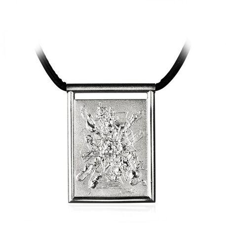 660839 Zilveren ketting Lapland Inspiro