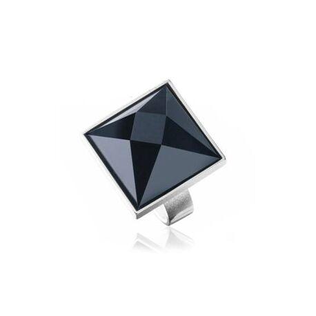 Zilveren ring onyx Lapponia Montenera 650700