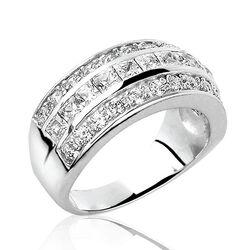 Zilveren ring zirconia Zir307 Zinzi