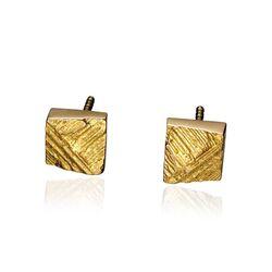 Gouden oorbellen Facet van Lapponia
