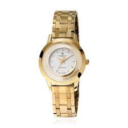 Christina verguld stalen horloge met stalen band