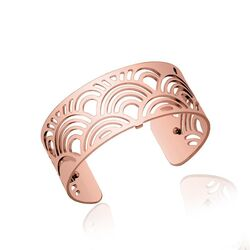 Les Georgettes 25 mm roseverguld armband poisson