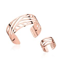 Les Georgettes set 25 mm Ruban armband met ring