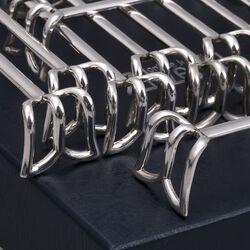 zilveren messenleggers