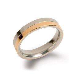 Boccia Titanium bicolor ring 0129-07
