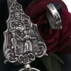 Tashaak antiek zilver Hooijkaas