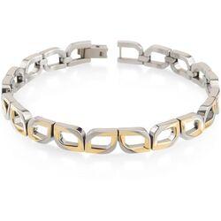 Boccia titanium armband bicolor 03010-02