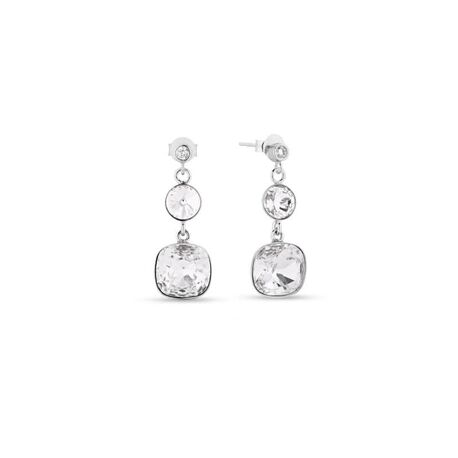 Spark zilveren oorbellen Anabele crystal