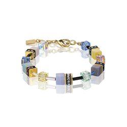 Coeur de Lion Geo Cube armband Multicolor romance