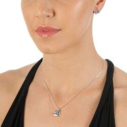 Hot Diamonds zilveren necklace hart
