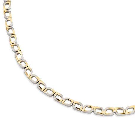 Boccia Titanium bicolor collier tulpmodel