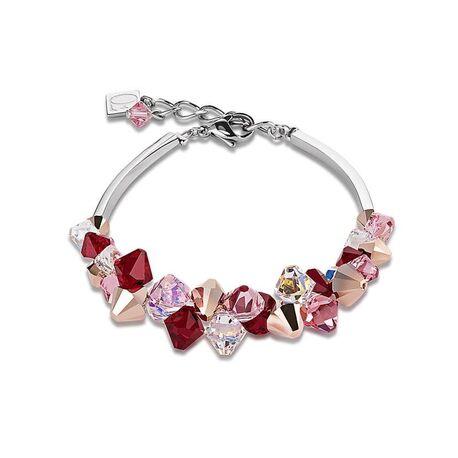 Coeur de Lion armband rood roze