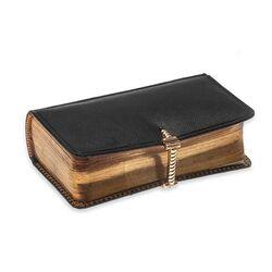 Leuk bijbeltje met goudenslot