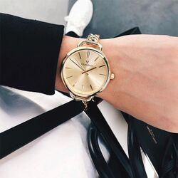 Vendoux verguld stalen horloge Doublé