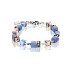Coeur de Lion armband blauw rosé 4016-30-0720