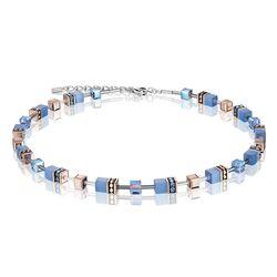 Coeur de Lion collier blauw 4016-10-0720