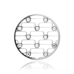 MY iMenso zilver cover abstract 33 mm