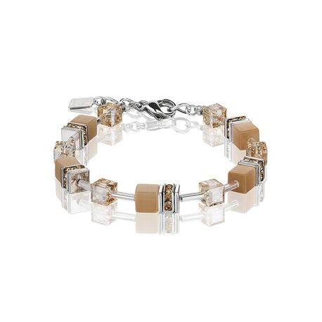 Coeur de Lion armband beige 4322-30-1000