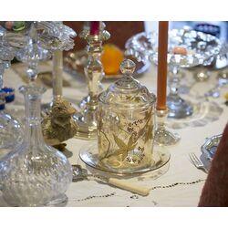 Beschuitbus met zilveren dop