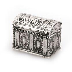 Antiek zilveren doosje koffertje