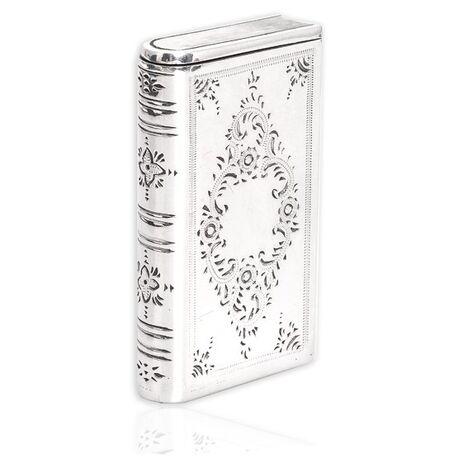 Zilveren tondeldoos boekje kunsthistorische collectie Begeer