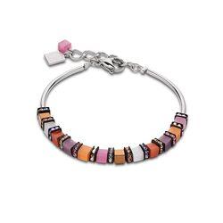 Coeur de Lion frontline armband oranje roze