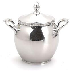 Suikerpot zilver met deksel
