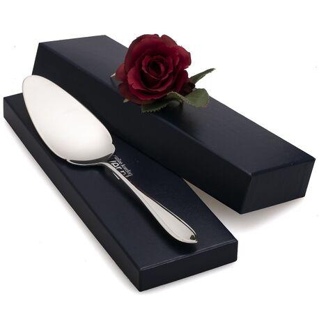 taartschep puntfilet zilver