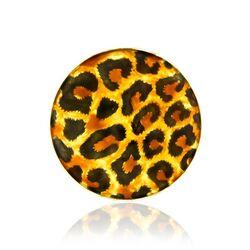 MY iMenso insignia geëmailleerd tijgerprint 33-1451