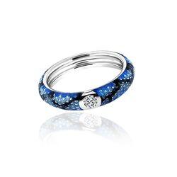 MY iMenso blauwe slangenprint 28-0954
