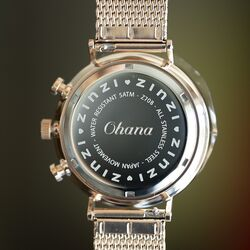 Zinzi horloge graveren