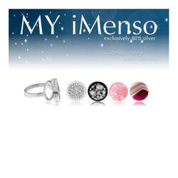MY iMenso 14 mm ring flora insignia's