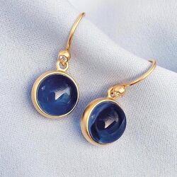 Julie Sandlau zilveren set donkerblauw