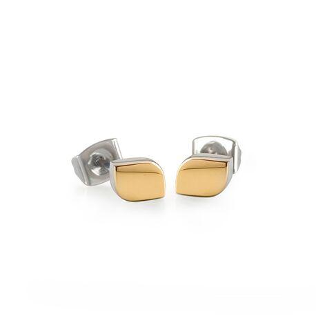 Boccia Titanium vergulde tulp oorstekers