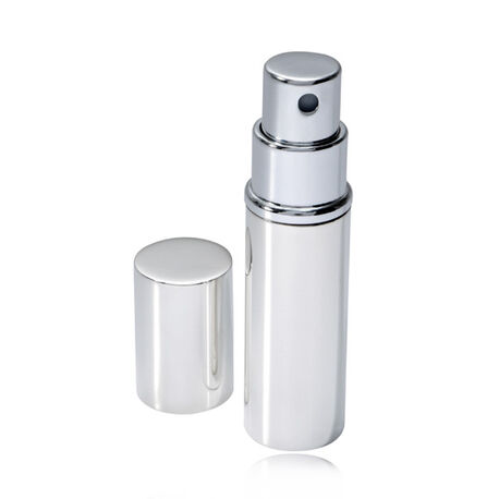 Zilveren parfumverstuiver van Carrs