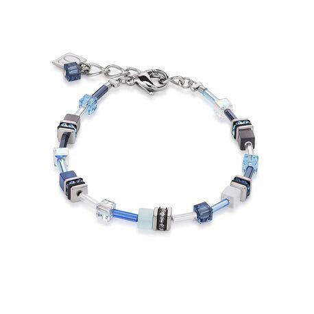 Coeur de Lion 4910-30-0737 armband geo cubes