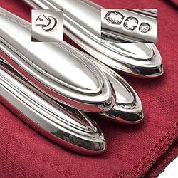 4 om 4 messen dubbelpuntfilet zilver