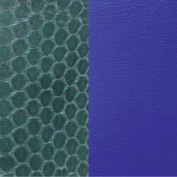 Les Georgettes 25 mm inlay denim blauw groen slang