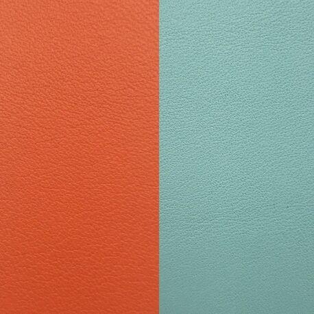 Les Georgettes 25 mm inlay oranje turqouis