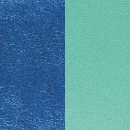 Les Georgettes 25 mm inlay metallic blauw en licht blauw