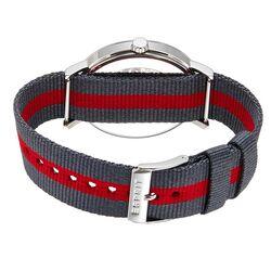 Vaderdag actie! Esprit herenhorloge met rode textielband